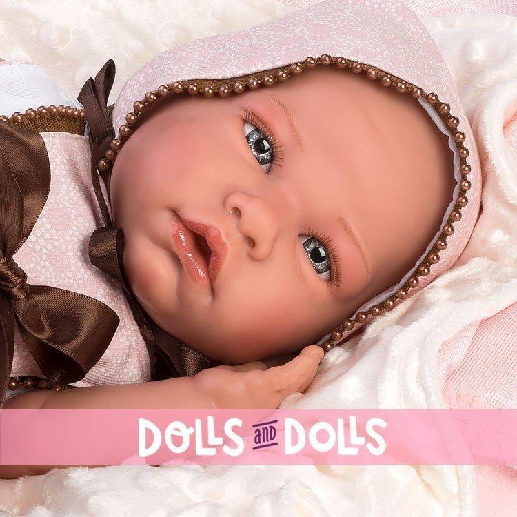Así doll 46 cm - Tamara, limited series Reborn type doll