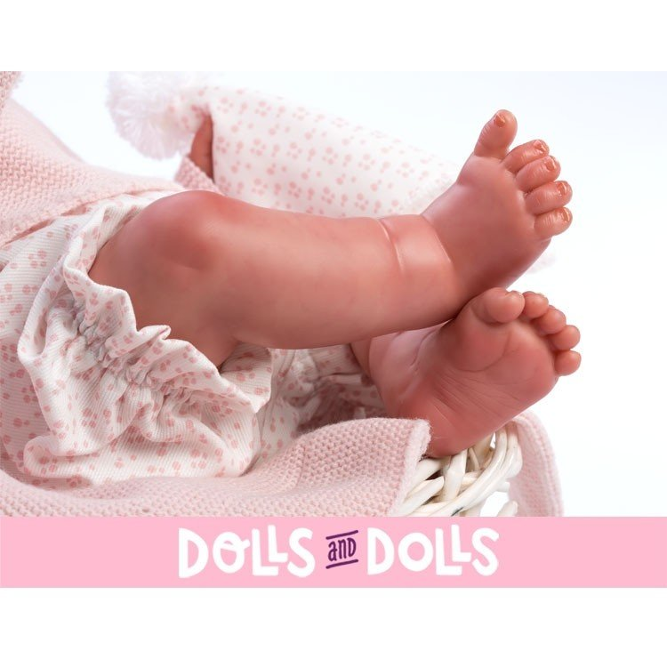 Así doll 46 cm - Vera Real Reborn doll with hair
