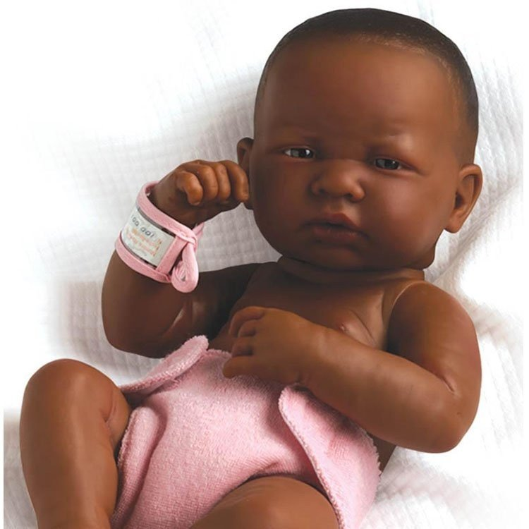 Berenguer Boutique doll 36 cm - La newborn 18507N (girl) african-american