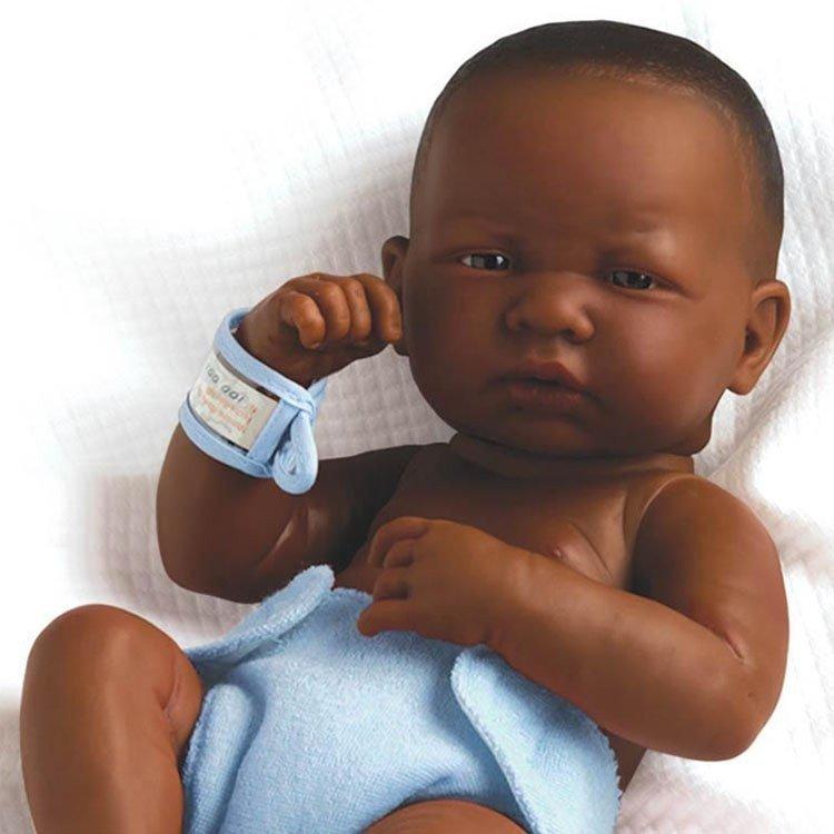 Berenguer Boutique doll 36 cm - 18506N La newborn (boy) african-american