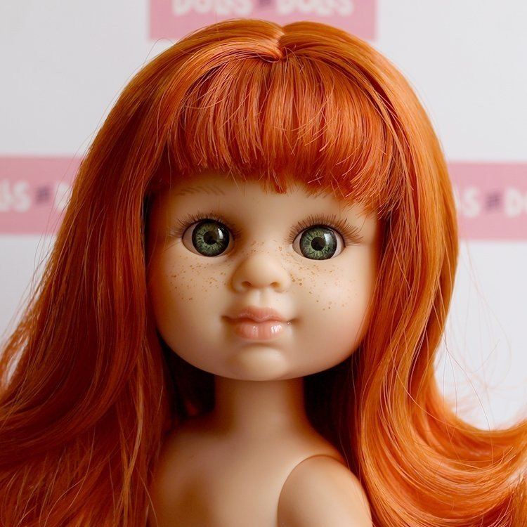 Berjuan doll 35 cm - Boutique dolls - My Girl red haired without clothes