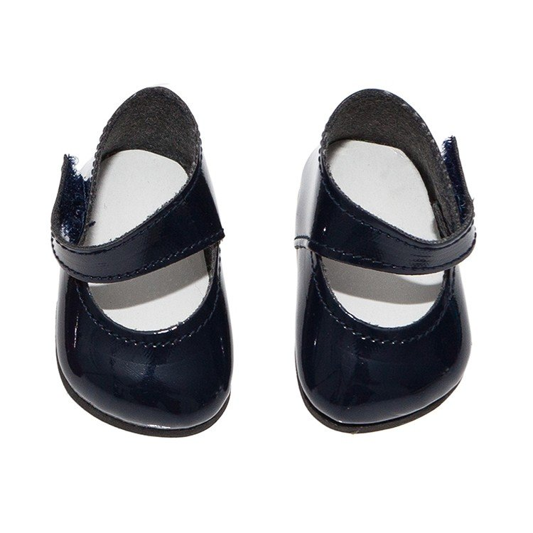 Así doll Complements 36 to 40 cm - Navy blue shoes for Guille, Koke and Nelly doll