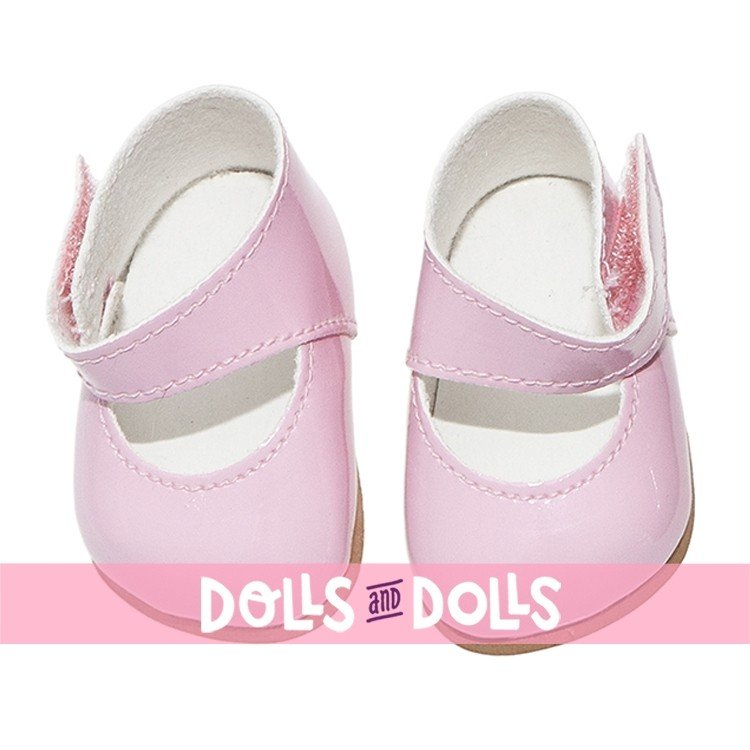 Así doll Complements 36 to 40 cm - Pink shoes for Guille, Koke and Nelly doll