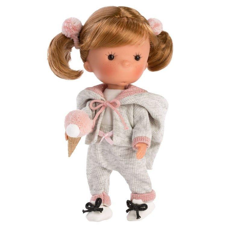 Llorens doll 26 cm - Miss Minis - Miss Pisi Pink