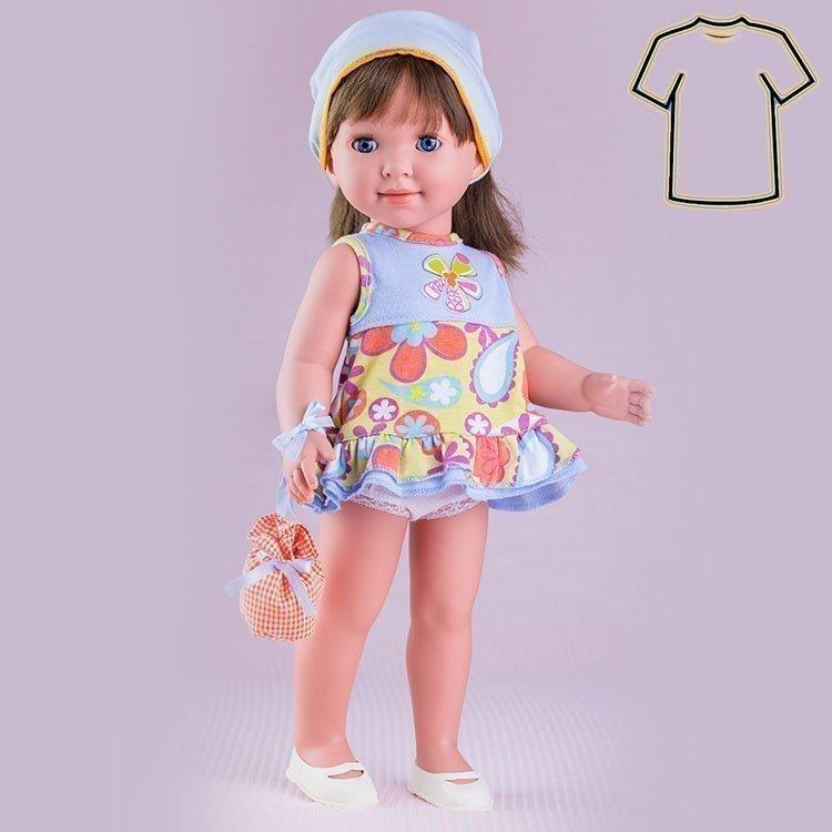 Miel de Abeja doll Outfit 45 cm - Carolina - Beach dress set