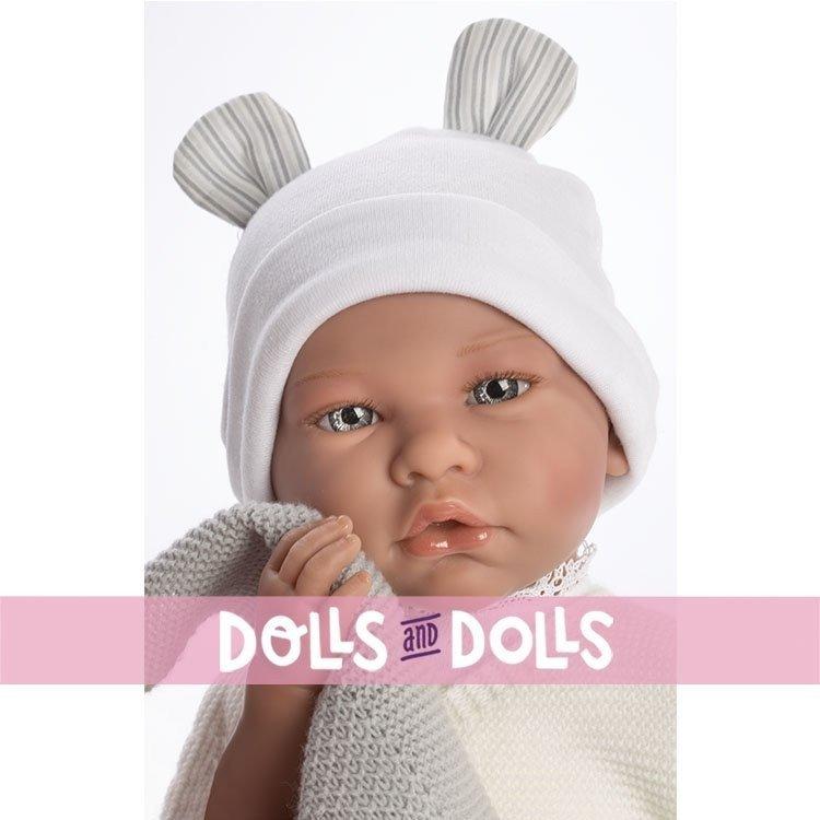 Así doll 46 cm - Felipe, limited series Reborn type doll