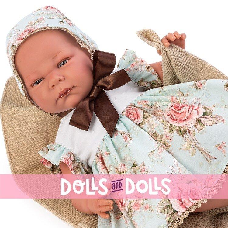 Así doll 46 cm - Inés, limited series Reborn type doll