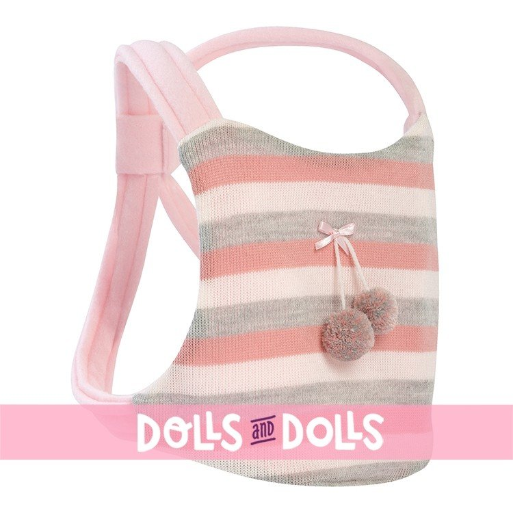 Llorens doll 42 cm - Crying Mimi with baby carrier