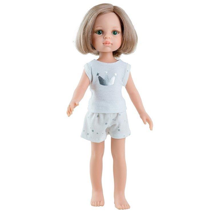 "Paola Reina doll ~Las Amigas~KARLA in pajamas~13.5/""~34cm~iCukla"
