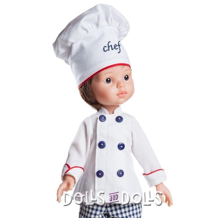 Paola Reina doll 32 cm - Las Amigas - Carlos Chef