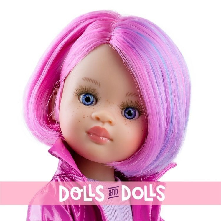 Paola Reina doll 32 cm - Las Amigas Funky - Noelia with hearts outfit