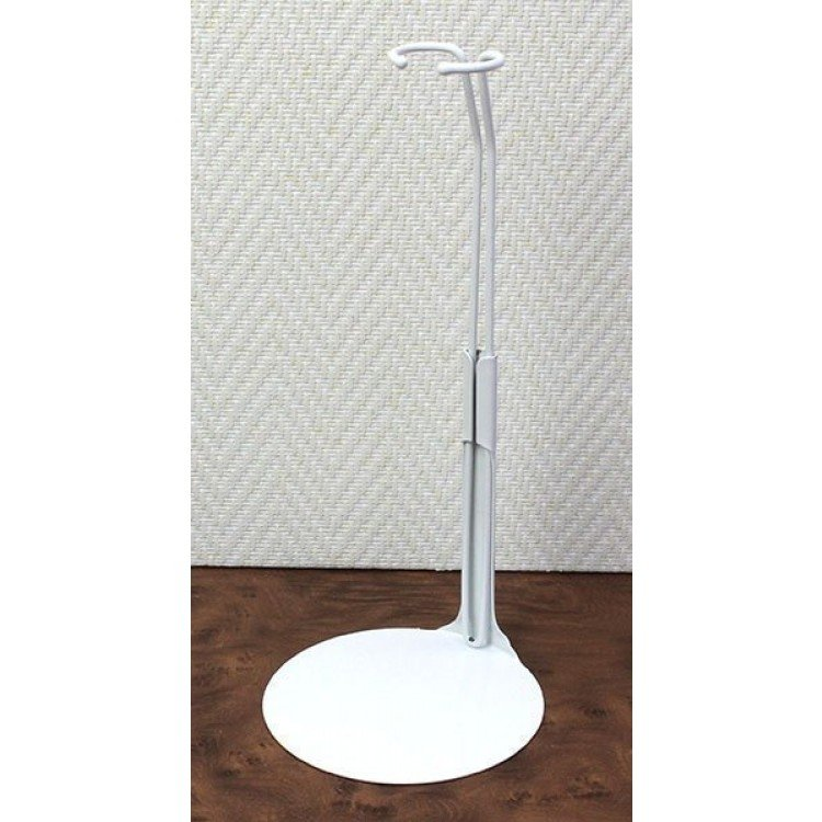 Metal doll stand 2201 in white for Barbie type