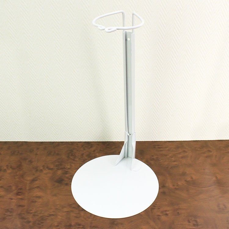 Metal doll stand 4001 in white for Götz 68 cm type