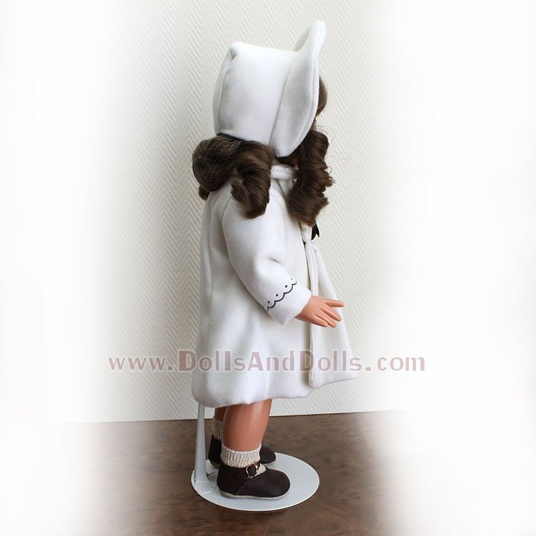Metal doll stand 3101 in white for Mariquita Perez type