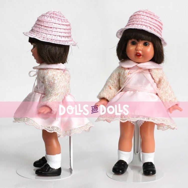 Metal doll stand 2001 in white for MINI Mariquita Perez type