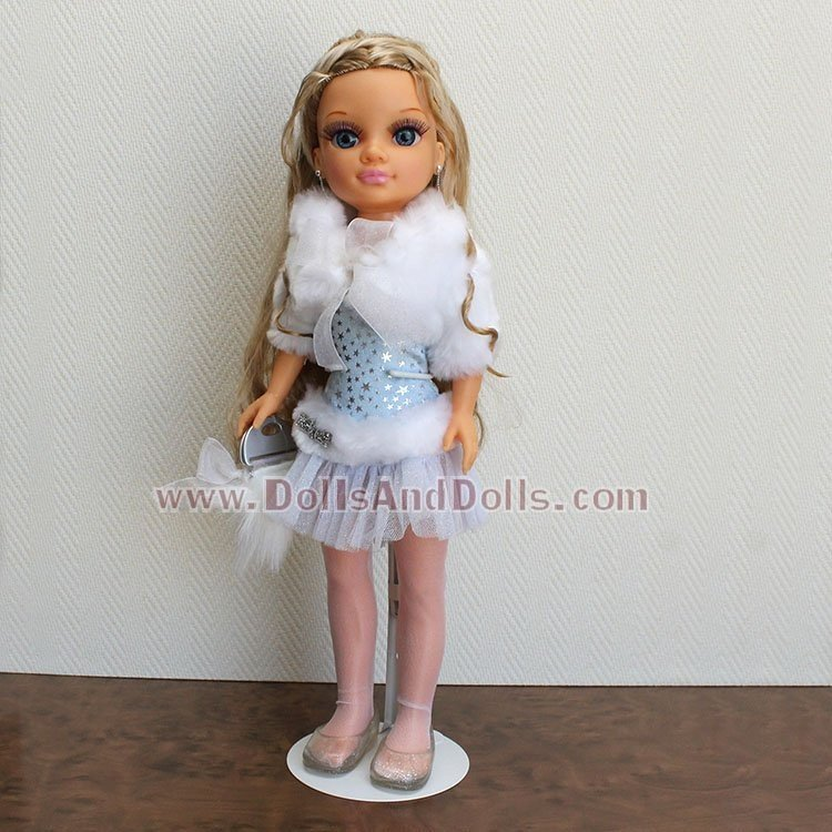 Metal doll stand 2501 in white for Nancy KidznCats type