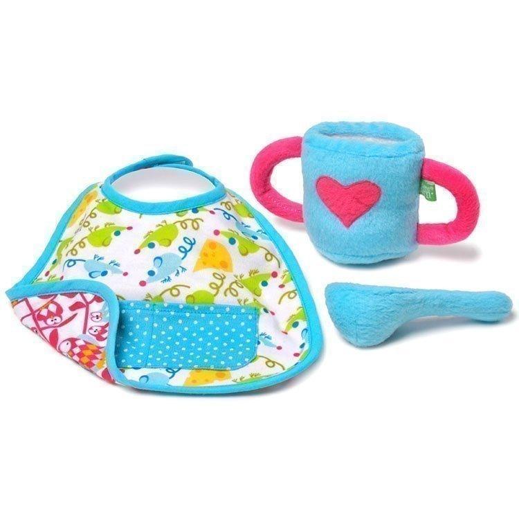 Rubens Barn doll Complements 45 cm - Rubens Baby - Feeding kit