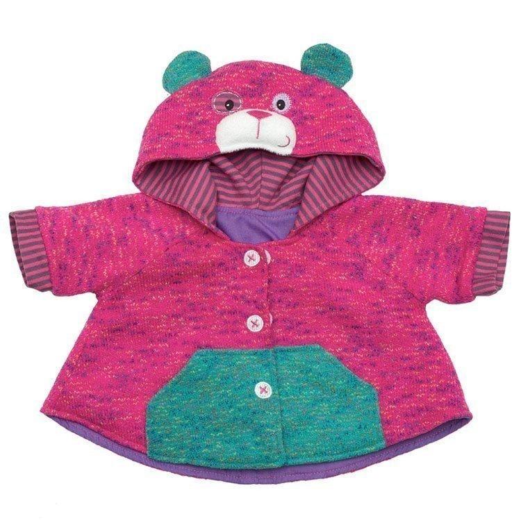Rubens Barn doll Outfit 45 cm - Rubens Baby - Teddybear jacket