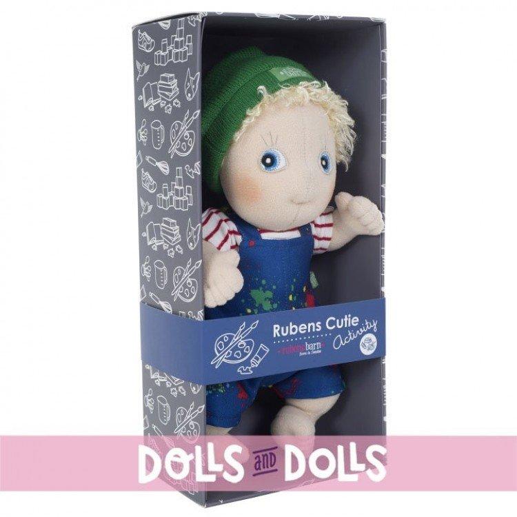 Rubens Barn doll 32 cm - Rubens Cutie Activity - Adam Painter