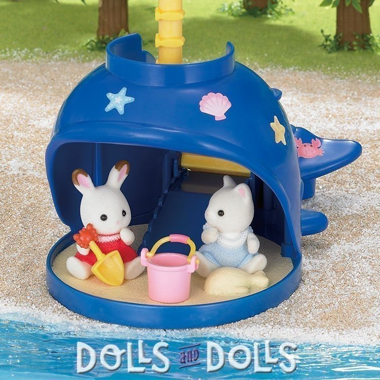Sylvanian Families - Splash and Play Whale