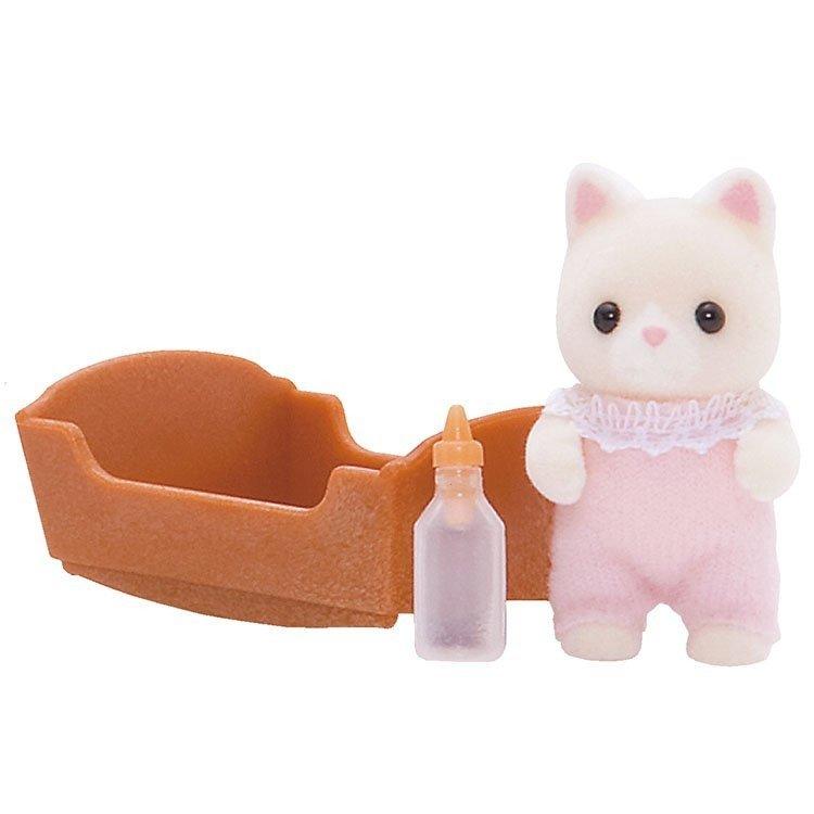 Sylvanian Families - Silk Cat Baby