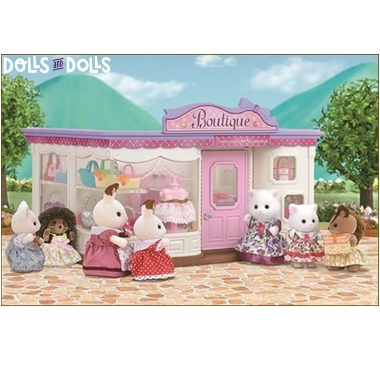 Sylvanian Families - Boutique with accessories