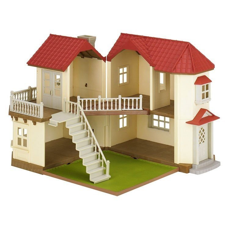 Sylvanian Families - City House with Lights ...