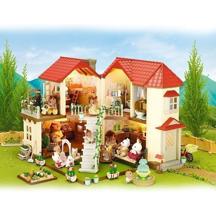 Sylvanian Families City House With Lights   Autos Post