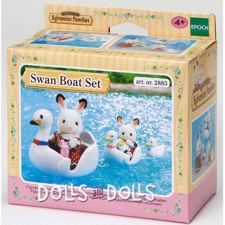 Sylvanian Families - Swan Boat Set