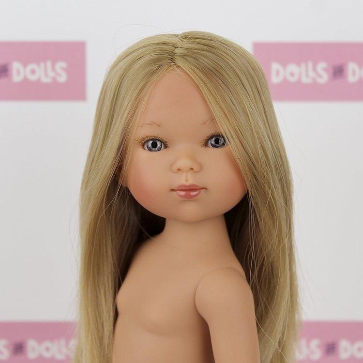 Vestida de Azul doll 28 cm - Carlota blonde without clothes