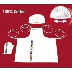 Klein 9014 - Gourmet Bistro Set, 3 piece - Apron, hat and glove