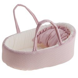 Antonio Juan doll Complements 40-42 cm - Carrycot with geometric print