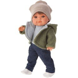 Antonio Juan doll 38 cm - Farito with jacket