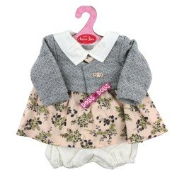 Antonio Juan doll Outfit 40-42 cm - Floral printed dress with jacket