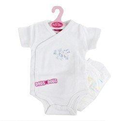 "Antonio Juan doll Outfit 52 cm - Mi Primer Reborn Collection - Body ""super cute"" with nappy"