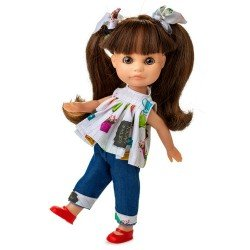 Berjuan doll 22 cm - Boutique dolls - Luci with denim outfit