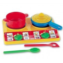 Klein 9170 - Toy Cooker with accessories Casa mia