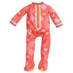 Outfit for Lalaloopsy doll 31 cm - Hearts Pajamas
