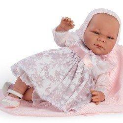 Así doll 46 cm - Mencía, Limited Series Reborn type doll