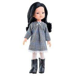 Paola Reina doll 32 cm - Las Amigas - Liu with grey dress
