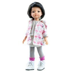 Paola Reina doll 32 cm - Las Amigas - Candy with flamingos outfit