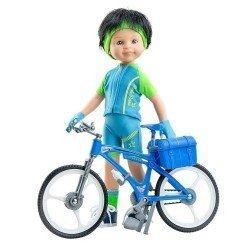 Paola Reina doll 32 cm - Las Amigas - Carmelo Cyclist