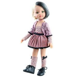 Paola Reina doll 32 cm - Las Amigas Funky - Liu with pink outfit