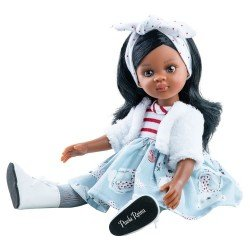 Paola Reina doll 32 cm - Las Amigas - Nora with little bears outfit