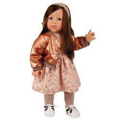 Schildkröt doll 52 cm - Elli brunette by Elisabeth Lindner