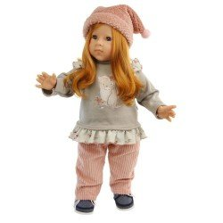 Schildkröt doll 52 cm - Elli with red hair by Elisabeth Lindner