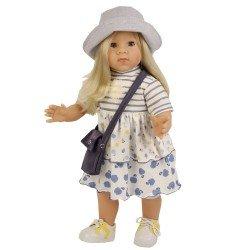 Schildkröt doll 52 cm - Elli blonde by Elisabeth Lindner