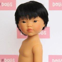 Vestida de Azul doll 28 cm - Los amigos de Carlota - Kenzo black hair without clothes