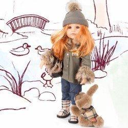 Götz doll 50 cm - Hannah and her dog '19
