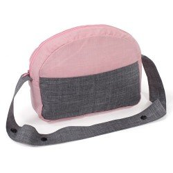 Bag for doll pram - Bayer Chic 2000 - Pink-grey